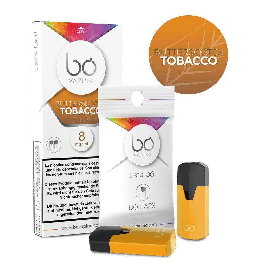BO CAPS – Butterscotch Tobacco