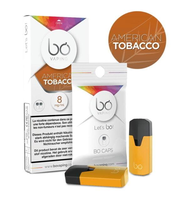 Caps bo American Tobacco