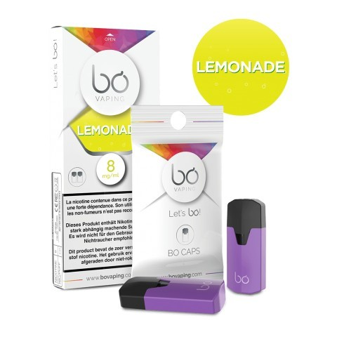 Bo Caps Aloe Lemonade